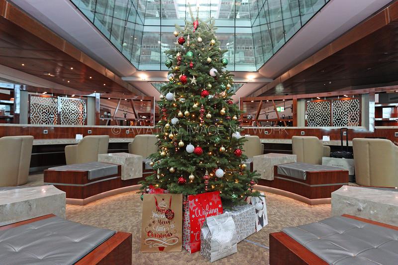 Emirates Terminal 3 Concourse B Business Class Lounge