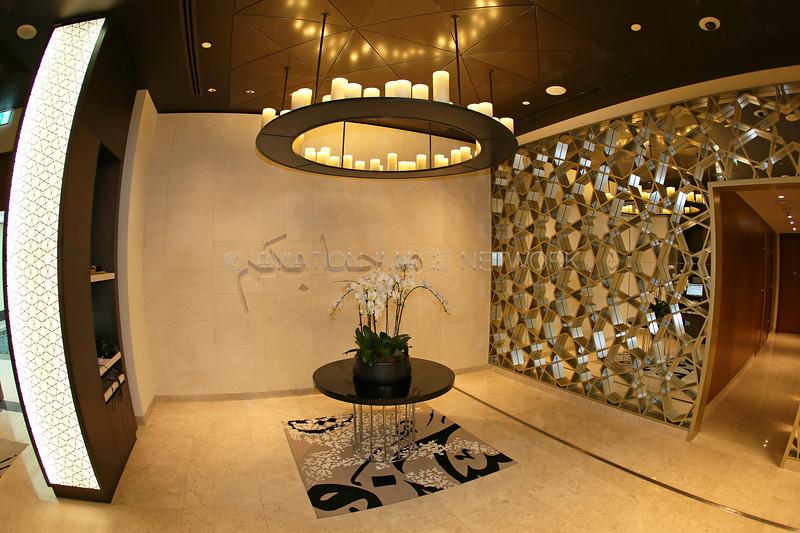 Qatar Airways Dubai Premium Lounge