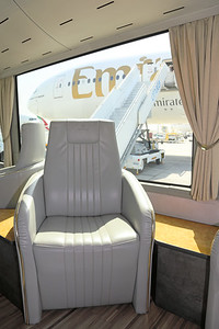 Emirates First Class Passenger Bus