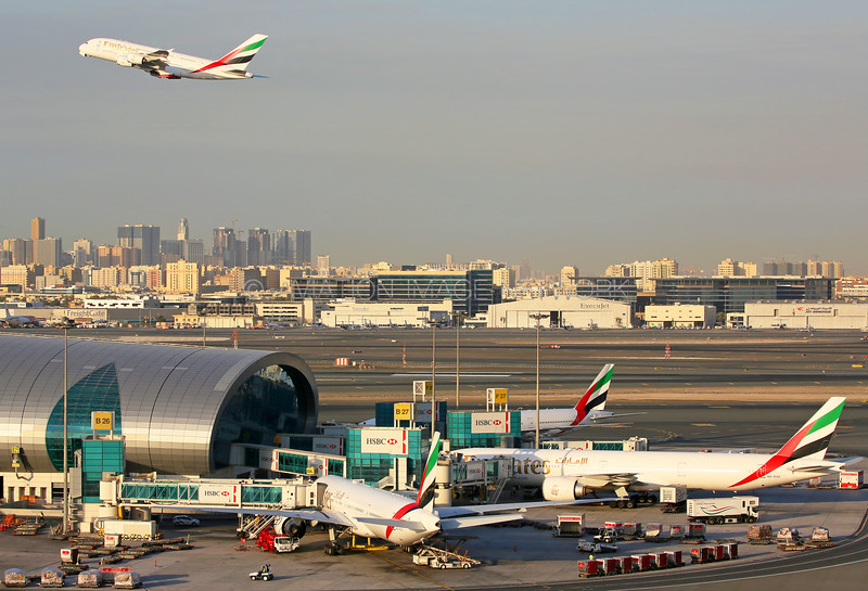 Dubai International Airport Emirates Terminal 3