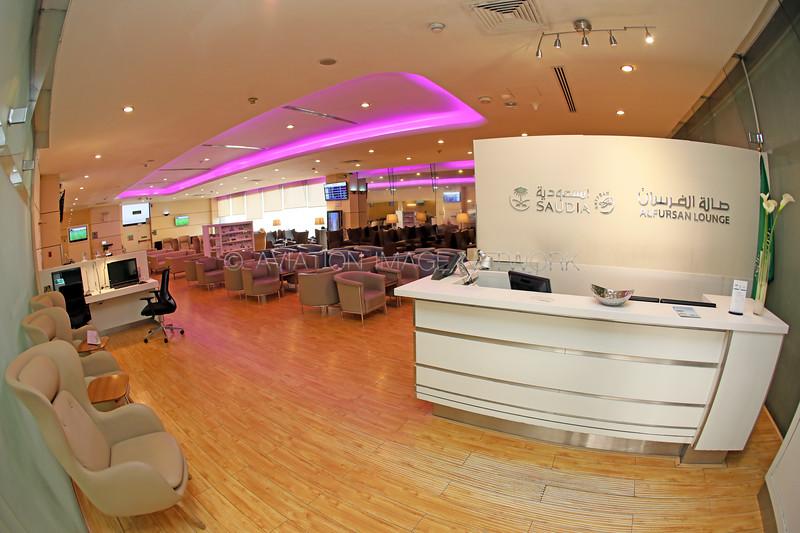 Jeddah International Airport Saudia Al Fursan Lounge
