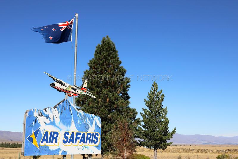 Lake Tekapo Airport   Air Safaris