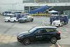 Delta Private Jets-branded Porsche SUVs at LAX