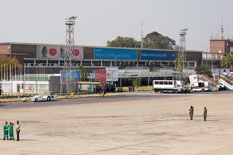 Kenneth Kaunda International Airport Terminal Building