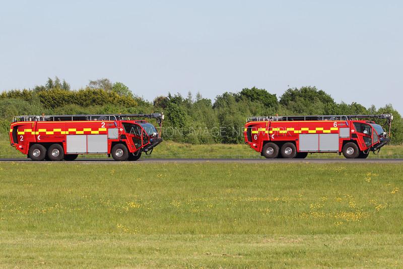 Oshkosh Striker 6x6 Aircraft Rescue and Firefighting vehicle