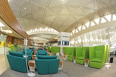 Riyadh King Khalid International Airport Wellcome Lounge