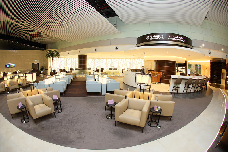 Riyadh King Khalid International Airport Saudia Al Fursan Lounge
