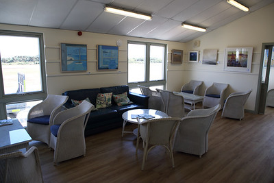 Tresco Isles of Scilly Heliport Departure Lounge