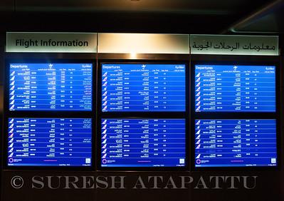 Flight Information  at Doha