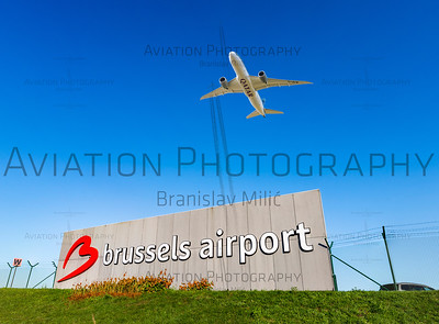Aviation – Airports – BRU/EBBR – Brussels Airport – 0004 | 8000 x 2945px |Free with 0004