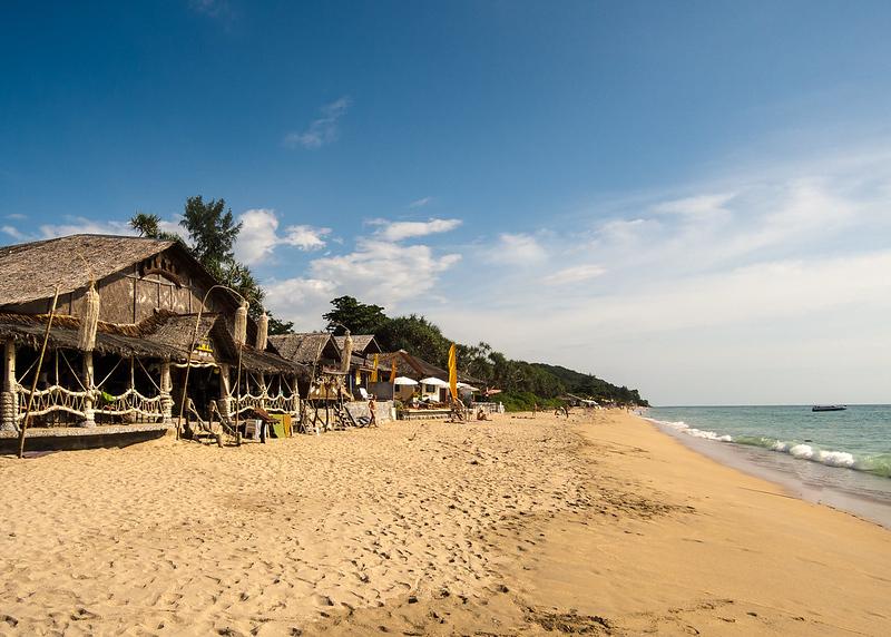 Beautiful beach Ko Lanta copyright dronepicr