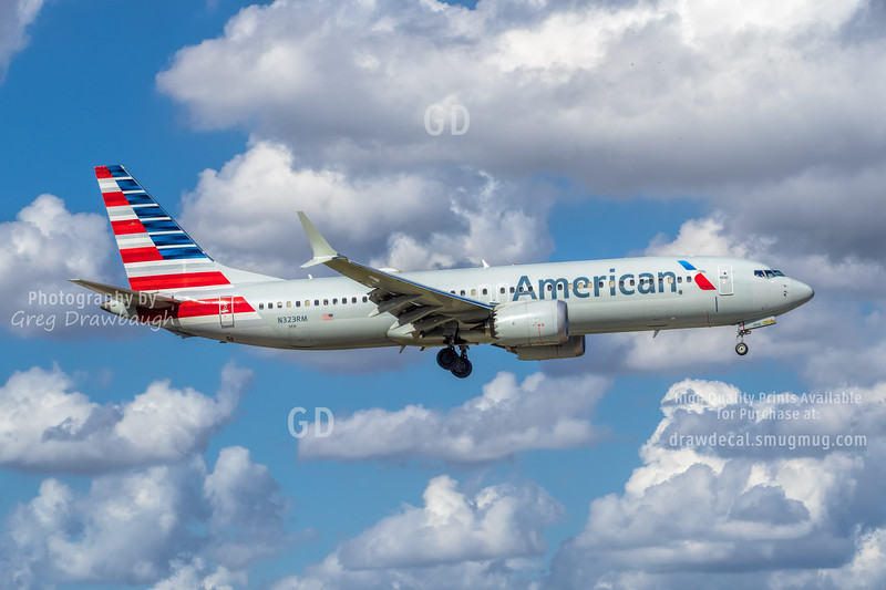 American 737-8 Max