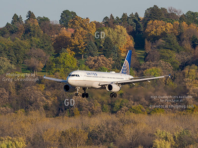 United Airbus A320