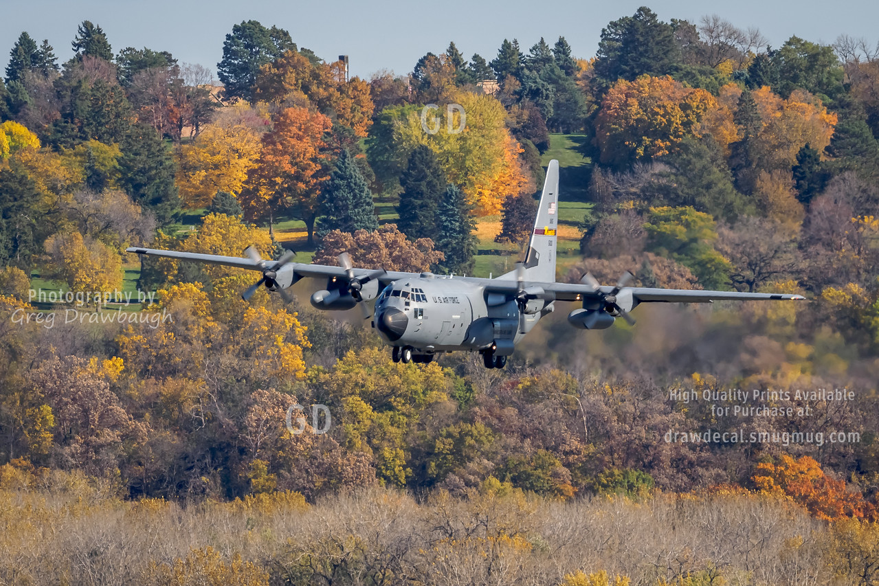Fall Colors for the Minnesota Air National Guard