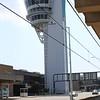 Philadelphia ATC Tower from SEPTA Terminal B Rail Station