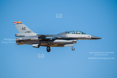 Dutch Airforce F-16B
