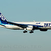 All Nippon Airways - ANA, ANA1078, Boeing 787-8 Dreamliner, JA820A, KSEA, SEA, Seattle / Tacoma - International