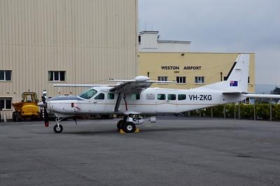 VH-ZKG Weston Airport 15 March 2015