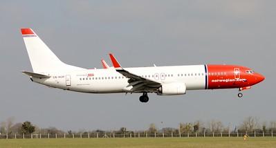 LN-NGR Dublin Airport 17 March 2016
