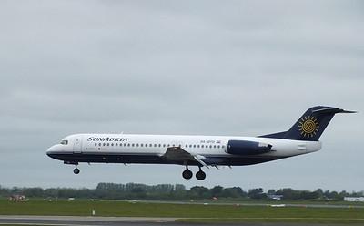 9A-BTD Dublin Airport 18 May 2013