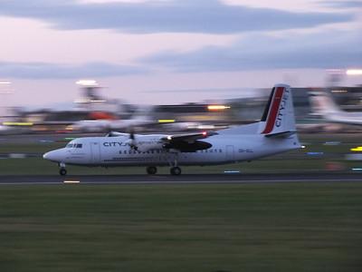 OO-VLL Dublin Airport 10 August 2013