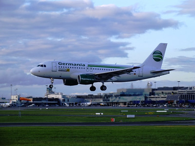 D-ASTY Dublin Airport 10 August 2013