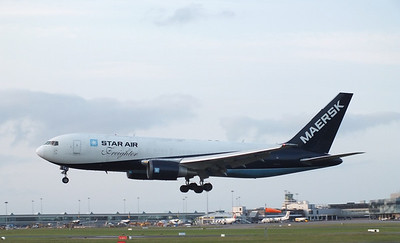 OY-SRJ Dublin Airport 4 July 2013