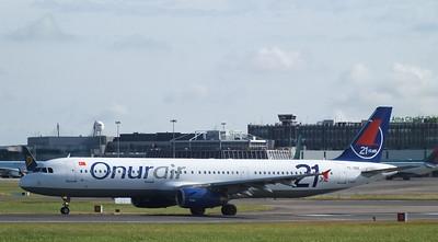TC-OBZ Dublin Airport 28 July 2013
