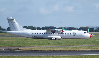 OY-LHB Dublin Airport 28 July 2013