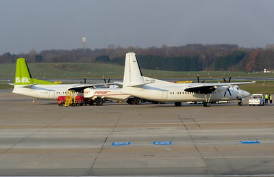 PH-JXM & YL-BAV Hamburg 29 March 2007