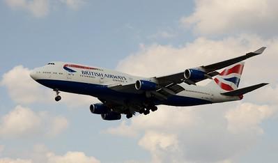 G-BNLO Heathrow 23 July 2016