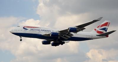 G-BNLK Heathrow 23 July 2016