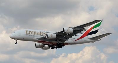 A6-EOT Heathrow 23 July 2016