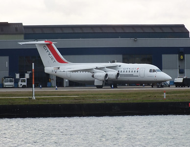 EI-RJZ London City Airport 1st February 2013