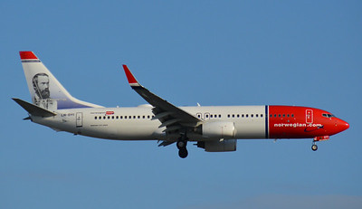 LN-DYI London Gatwick 15 July 2014