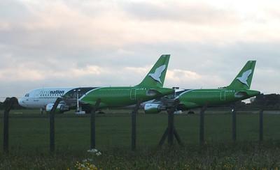 5N-FNE & 5N-FND Dublin Airport 15 June 2013
