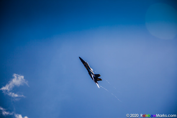 Blue Angel #5 over Chesterfield Missouri