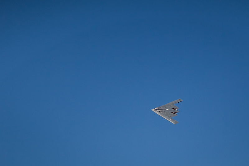 B-2 Bomber at the St. Louis Airshow