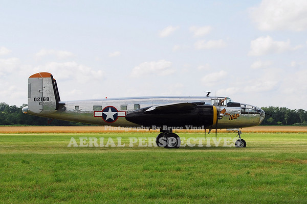"N2825B - 1940 North American RB-25  ""Miss Hap"""