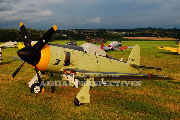 "C-FGAT - Hawker Mark 20 ""Sea Fury"""