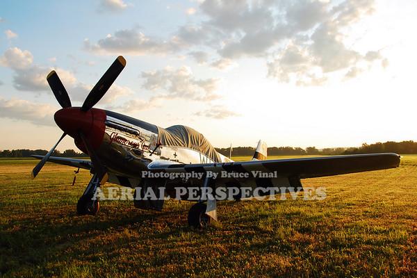 "N751RB - 1944 North American P-51D Mustang  ""Glamorous Gal"""