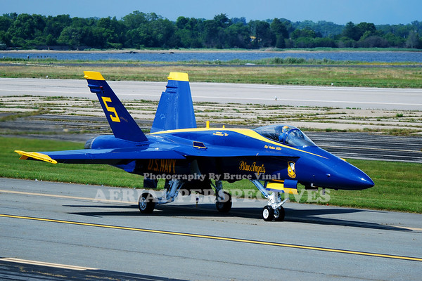 Blue Angels F/A 18 Hornet - 2009 Rhode Island National Guard Open House and Airshow