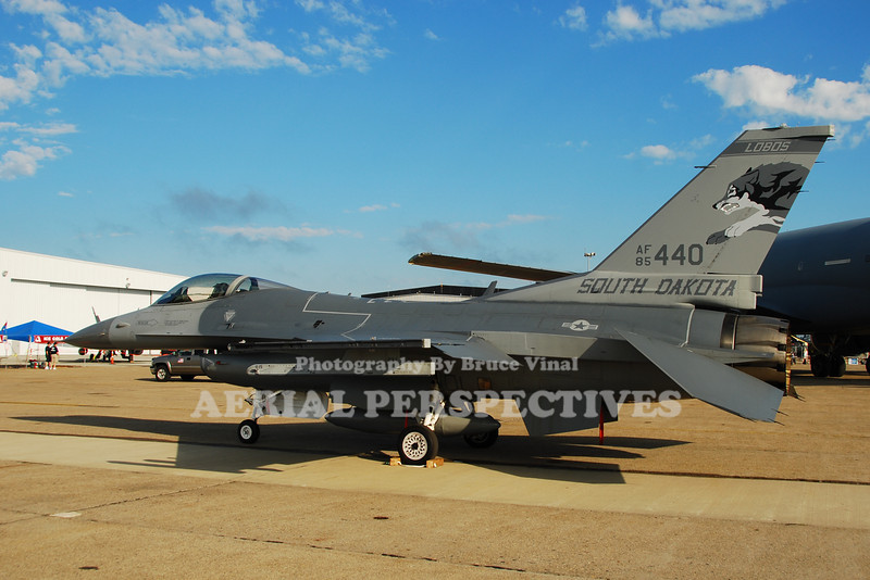 114th FW  -  General Dynamics F-16C Fighting Falcon