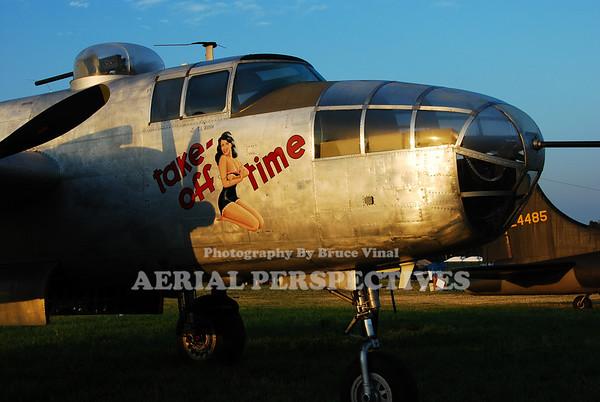 "N3155G - North American TB-25N ""Take Off Time"""
