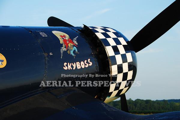 """N83JC, 1943, Goodyear, FG1D """"SkyBoss"""""""