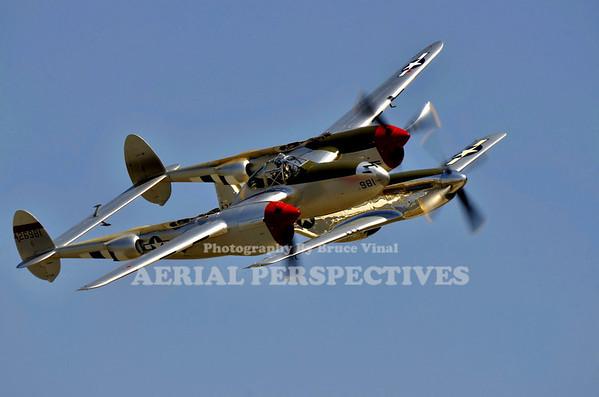 """NL7723C - 1944 Lockheed P-38L """"Honey Bunny"""" /"""