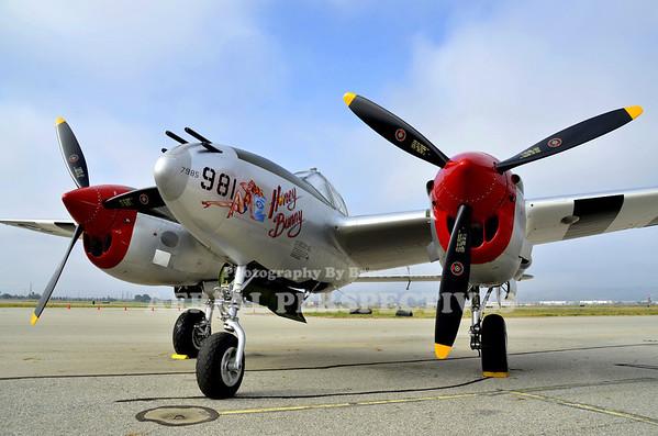 """NL7723C - 1944 Lockheed P-38L """"Honey Bunny"""""""