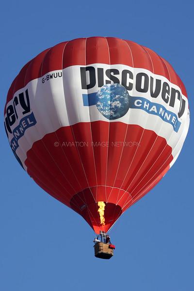 G-BWUU   Cameron N-90   Discovery Channel