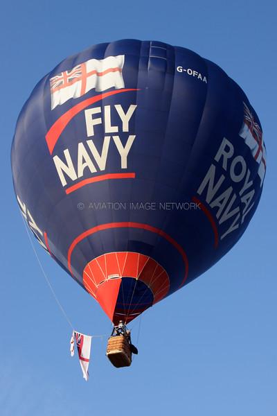 G-OFAA | Cameron Z-105 | Royal Navy