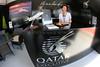 Qatar Airways Executive Display Stand